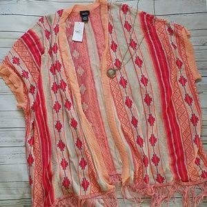 🌻Aztec Print Kimono